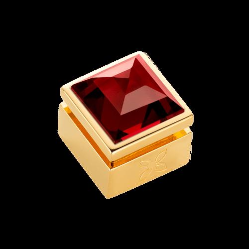 Cabochon interchangeable Grenat rouge XL