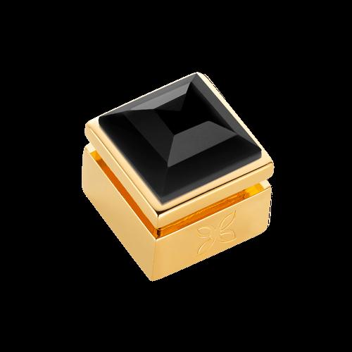 Cabochon interchangeable Spinelle noir XL