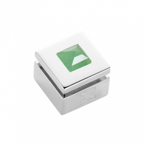 Cabochon interchangeable Green aventurine medium