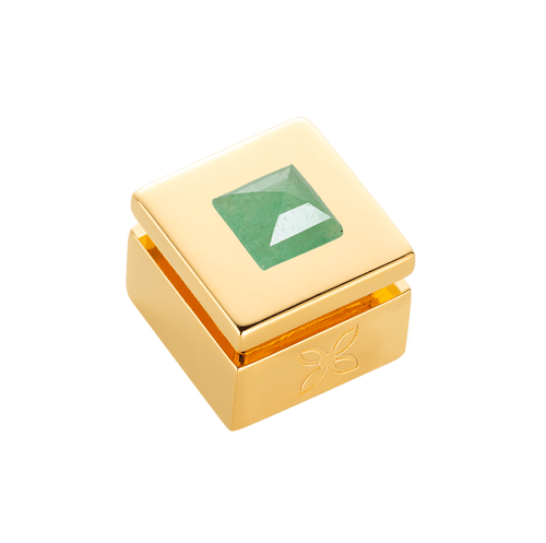 Cabochon interchangeable Green Aventurine