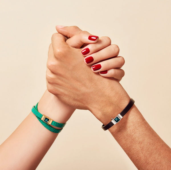 Match Lui et Elle bracelet cuir luxe