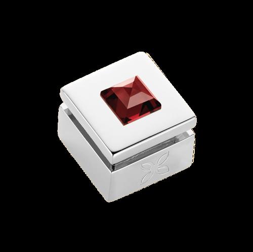 Cabochon interchangeable Grenat Rouge