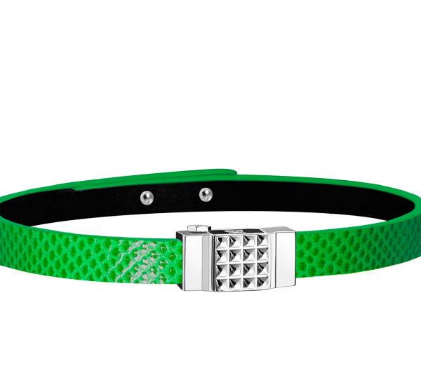 Bracelet homme vert électrique